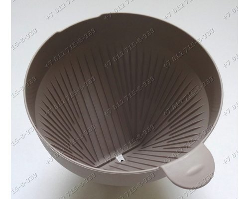Держатель пластиковый (для фильтра и пакетиков) для кофемашины Philips HD7613