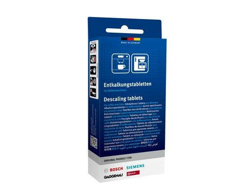 Таблетки от накипи для кофемашины Bosch, Siemens, Gaggenau, Neff - 3 штуки по 36 грамм 00311821 - ОРИГИНАЛ!