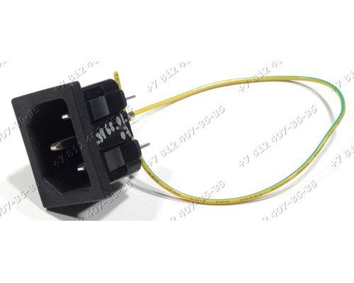 Ответная часть сетевого шнура для мультиварки Supra MCS4511, MCS-4511