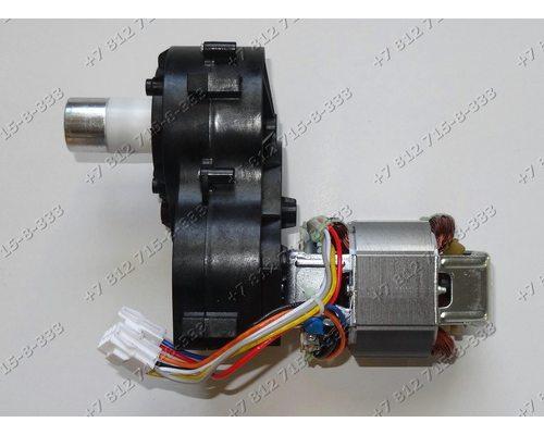 Двигатель в сборе с редуктором для мясорубки Bosch ProPower MFW6... - ОРИГИНАЛ!