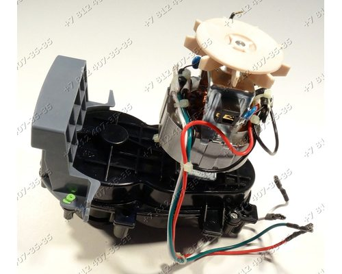 Двигатель в сборе с редуктором для мясорубки Moulinex ME1058, ME105830