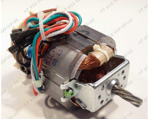 Двигатель HC7025F, 220-240V 50Hz, CI155 для мясорубок Polaris PMG1828, PMG1829, PMG1832, PMG2029