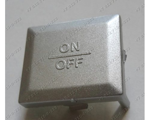 Клавиша включения в сборе с пружиной для мясорубки Redmond RMG-1208 RMG1208