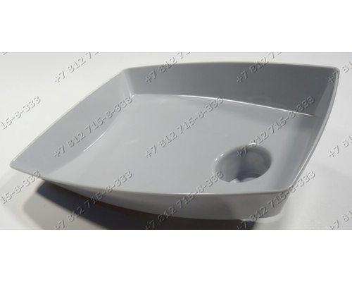 Лоток (пластик. серый) для мясорубки Bosch MFW45020/01, MFW66020/01