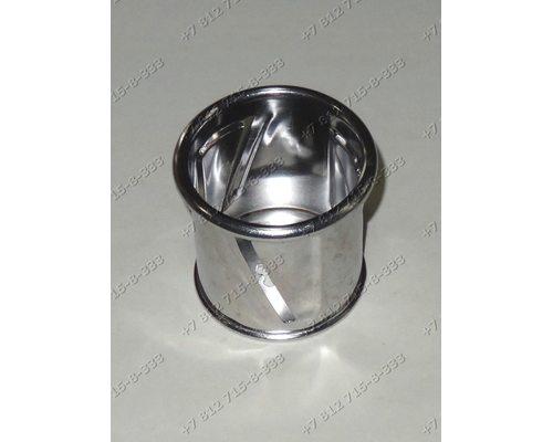 Барабанчик овощерезки (резка ломтиками) для мясорубки Bork MGRNP1215WT, Supra MGS1750, Vitek VT1677W, Redmond RMG-1203-8