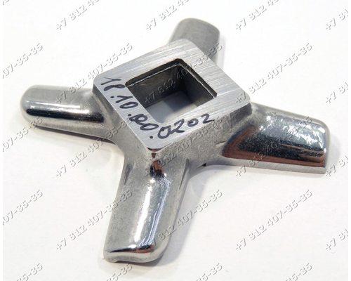 Нож для мясорубки Kenwood (Кенвуд) Pro 1400 Pro 1500 Pro 1600 MG300 MG400 MG450 MG470 MG500 MG510 MG520 НЕОРИГИНАЛ!