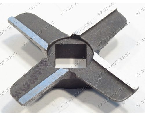 Нож для мясорубки Bosch MFW15… MUZ4FW1, Philips HR7752, Siemens, Kenwood KM260, Vitek VT1673, Zelmer - ОРИГИНАЛ!