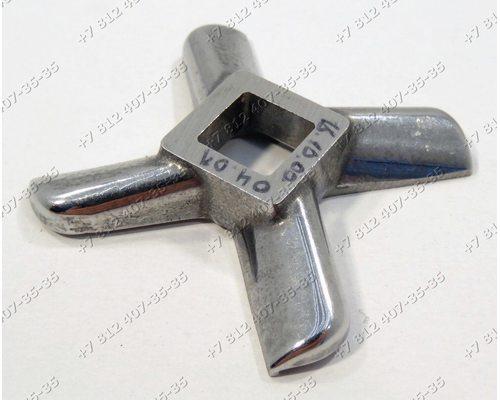 Нож для мясорубки Bork,Bosch, Zelmer, Cameron, Bimatek, Vitek (для многих моделей мясорубок) НЕОРИГИНАЛ!!