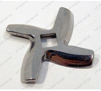 Нож для мясорубки Moulinex четырехгранник, Tefal, Supra MGS1351, MGS1350