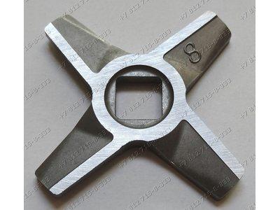 Нож для мясорубки Zelmer Bosch - двусторонний №8 ОРИГИНАЛ!