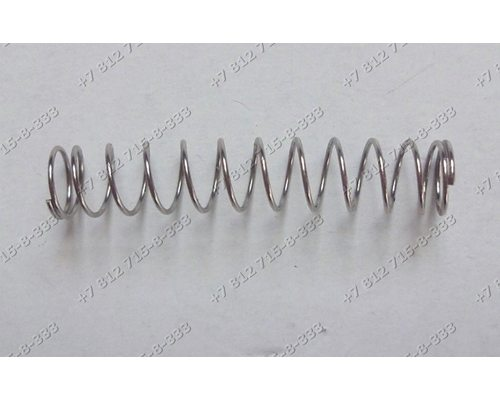 Пружинка держателя корпуса шнека для мясорубки Bosch MFW68660/01