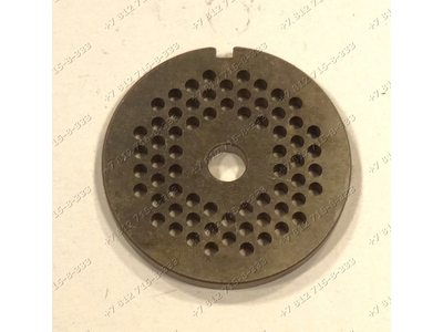 Решетка для мясорубки Braun тип 4195 маленькие отверстия и т.д.