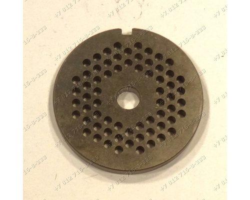 Решетка для мясорубки Braun тип 4195 G1100 G1300 G1500 маленькие отверстия ОРИГИНАЛ!