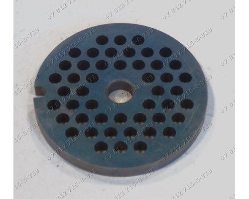 Решетка со средними отверстиями для мясорубки Zelmer 687.5 686.5A ZMM0805WRU ZMM0854WRU