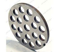 Решетка с углублениями, большие отверстия 7,2 мм диаметр 53,5 мм h 3 мм для мясорубки Помощница
