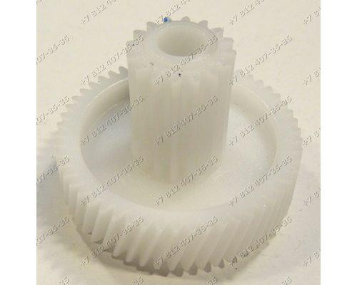 Шестеренка D=46/18 мм H=12/25 мм, зубья (54/) /16 для мясорубок Elenberg