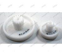 Комплект шестеренок для мясорубки Elenberg Panasonic Supra - малая и средняя