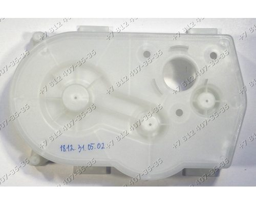 Задняя стенка корпуса редуктора для мясорубок Panasonic MK-G30PR, MK-ZG1500BTQ, MK-G38PR