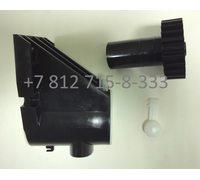 Фиксатор корпуса шнека и черная шестеренка для мясорубок Braun G3000 4195