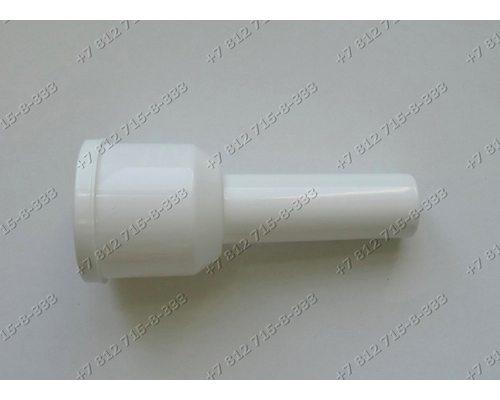 Белый пластиковый толкатель для мясорубки Supra MGS-1750 Vitek VT-1677W