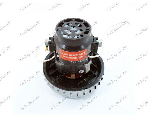 Двигатель 11ME137 1000W H 120 мм, диаметр 112 мм - универсальный моющий