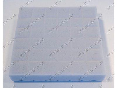 Фильтр поролоновый квадратный для пылесоса Bosch BGS32001/02