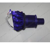 Крышка пылесборника циклон (фиолетовый) для пылесоса Dyson DC26