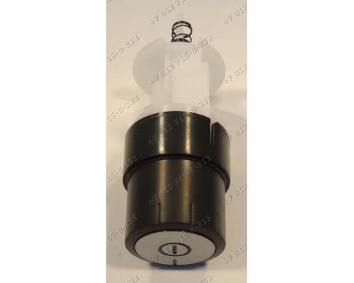 Клавиша включения в сборе с фиксатором и пружиной для пылесоса Bosch BGS32001/02