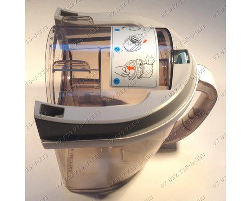 Емкость пылесборника в сборе с крышкой для пылесоса LG VK78183R, VK78182RQ.CDTQRUA, VK79103HX.CXRQBWT