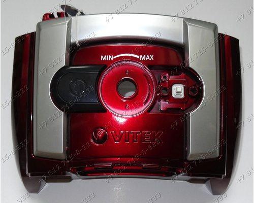 Верхняя часть корпуса - крышка для пылесоса Vitek VT1833R, VT-1833R, VT-1833PR, VT1833PR