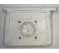 Мешок-пылесборник тканевый многоразовый VC08W07, квадрат - размер крепления 10*11 см для пылесоса универсальный