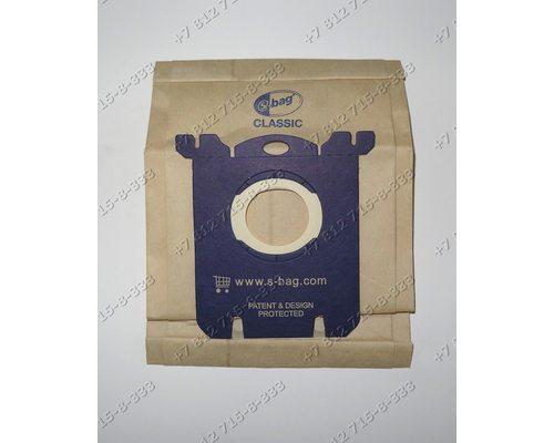 Комплект мешков-пылесборников S-BAG 5 штук E200B classic для пылесоса Electrolux Philips AEG, Tornado, Volta