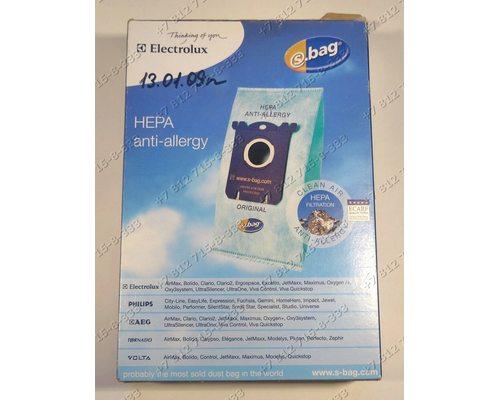Комплект мешков-пылесборников S-BAG 4 штуки в комплекте E206B для пылесоса Electrolux, Philips, AEG, Tornado, Volta