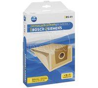 Мешки для пылесоса Bosch и Siemens, Karcher Type G BBZ41FG VZ41AFG Neolux BS-01 - бумажные, неоригинал - комплект из 5 штук!