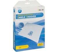Мешки для пылесоса Miele, Hoover - Neolux ML-02 синтетические - комплект из 4 штук