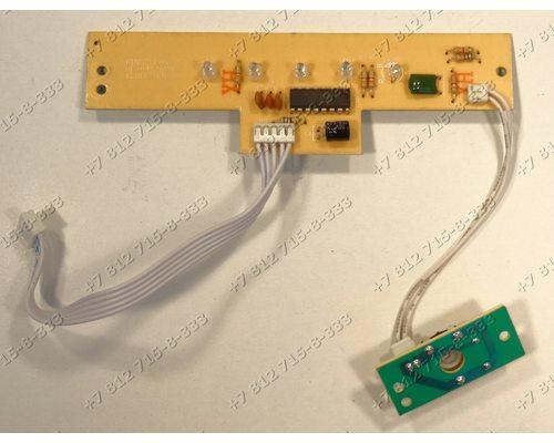 Плата индикации в сборе с потенциометром для пылесоса Redmond RV-310 RV310