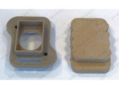 Прокладка двигателя верхняя в сборе с пластиковым держателем для пылесоса Philips FC8472/01, FC8472/81, FC8475/01