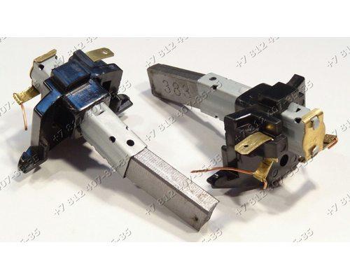 Щетки двигателя 6*11 мм в корпусе от двигателей для пылесоса