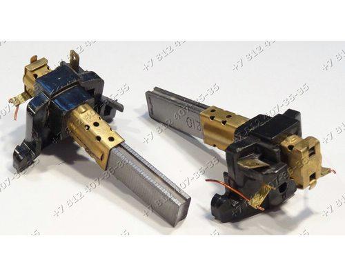 Щетки двигателя 6*12 мм в корпусе от двигателей для пылесоса