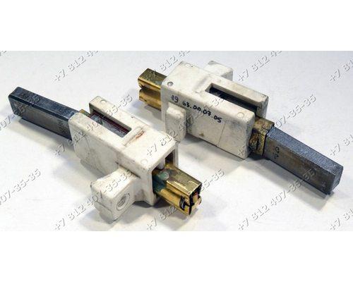 Щетки двигателя 6*11 мм в корпусах для пылесоса