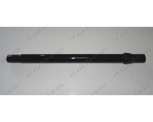 Телескопическая труба D 35 мм черный пластик универсальная для пылесоса