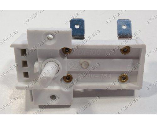Термостат KDT100 KDT-100 T90 16A 250V 90 градусов для радиатора 90C 16A 250V