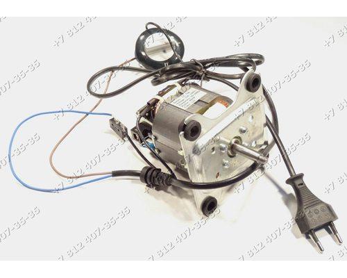 Двигатель в сборе с сетевым шнуром, ручкой переключения и селектором для соковыжималки Vitek VT-1609 VT1609 Scarlett SC-014 SC014