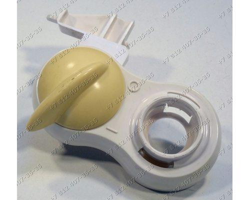 Ручка переключения в сборе с держателем и пружиной для соковыжималки Moulinex JU400X, JU4001, JU40013E/2DA-1609