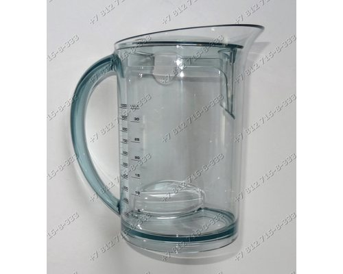 Стакан для слива сока соковыжималки Bork JUCUP21085WT, JUCUN24150SI, S800, S510, S511, JUCUP21095SI, S780