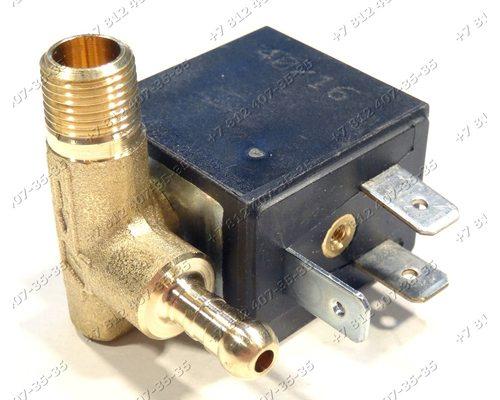 Клапан электромагнитный CEME 4W 1/8 90° для утюга Delonghi, Kenwood
