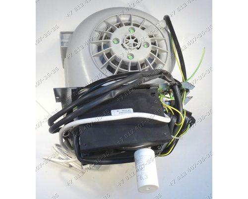 Двигатель в сборе с электронным модулем и т.д. для вытяжки Kuppersbusch KD9475.0E (701994)