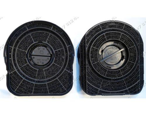 Фильтр угольный 260*331*9 мм для вытяжек Elica, Whirpool, Ikea