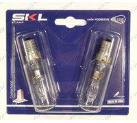 Лампочка E14 28W для вытяжки - галогеновая, комплект из 2 штук, Dr Fischer, Италия
