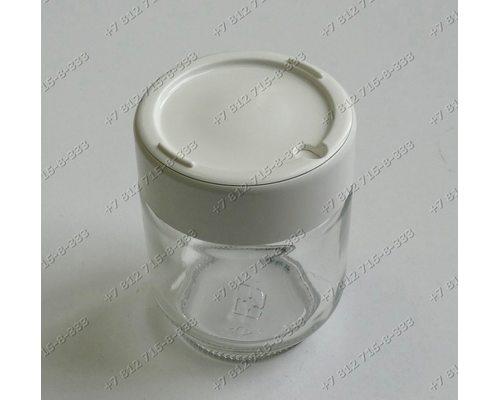 Баночки для йогуртницы Moulinex Yogurta timer, Yogurteo DJC241, YG231, YG230, DJC101, DJC201, DJC141 и т.д. - комплект из 3 штук
